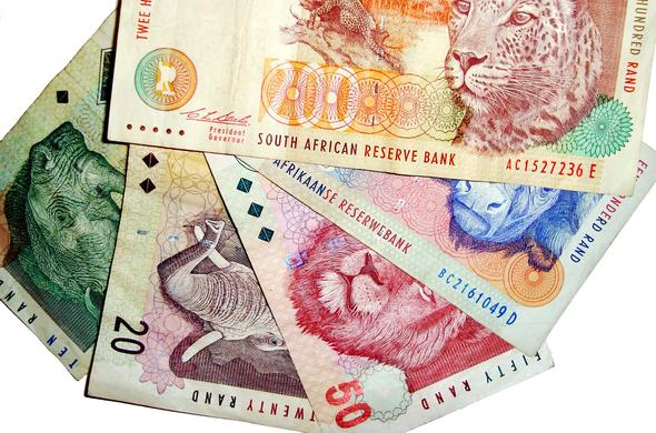 South Africa currency is the Rand.