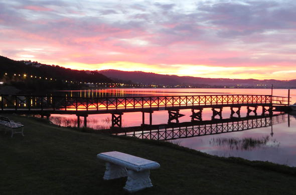 St James of Knysna has a jetty perfect for romantic strolls.