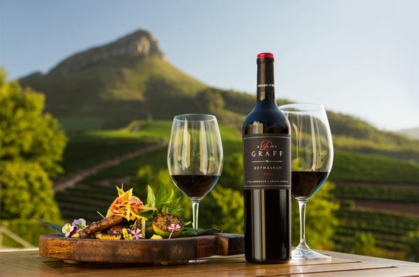 Wine and dine in the Cape Winelands.