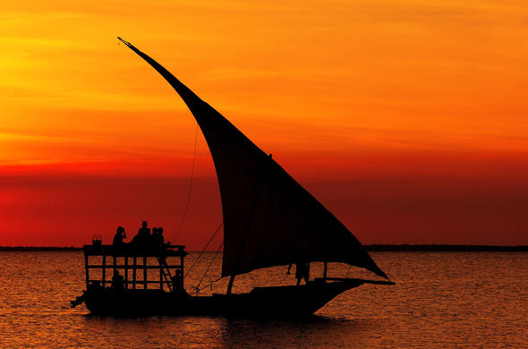 Cruise the East African coast and explore the area.