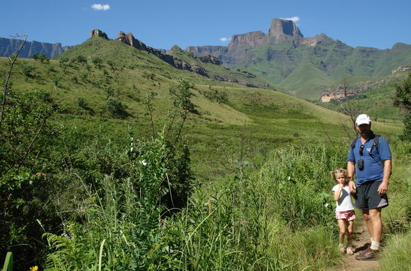 Three Tree Hill Lodge in the Drakensberg.