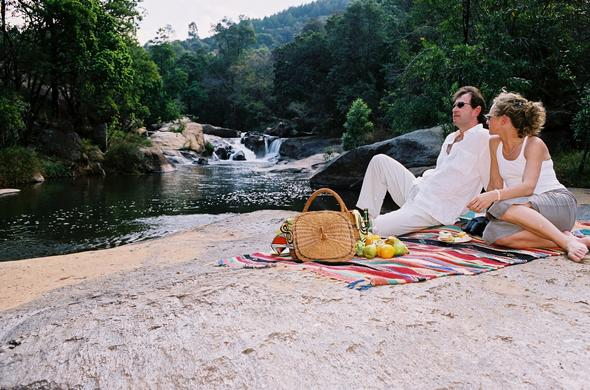 Picnic near Timamoon Lodge in Mpumalanga.