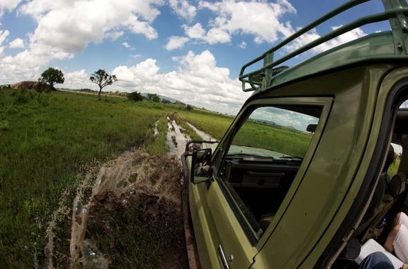 Explore the area in an off-road safari vehicle.
