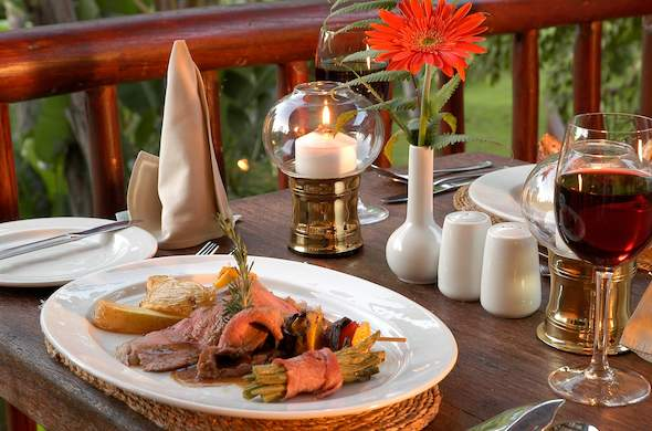Umbhaba Country Lodge near Kruger Park.