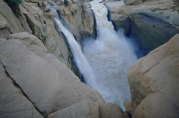 A view of the mighty Augrabies Falls.