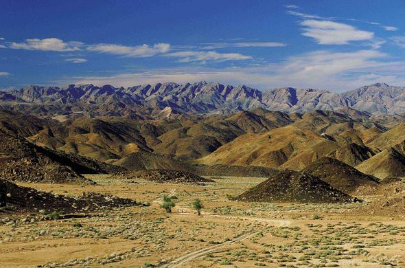 View of the Richtersveld National Park.