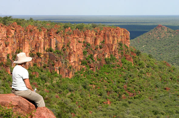 Scenic views over theWaterberg Plateau.
