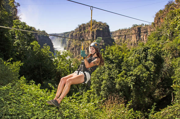 Experience unforgettable high wire activities.