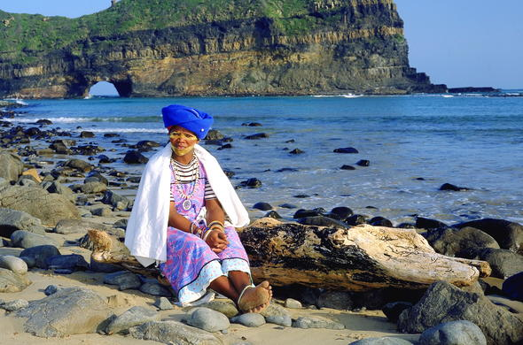 Xhosa woman sustainable tourism.