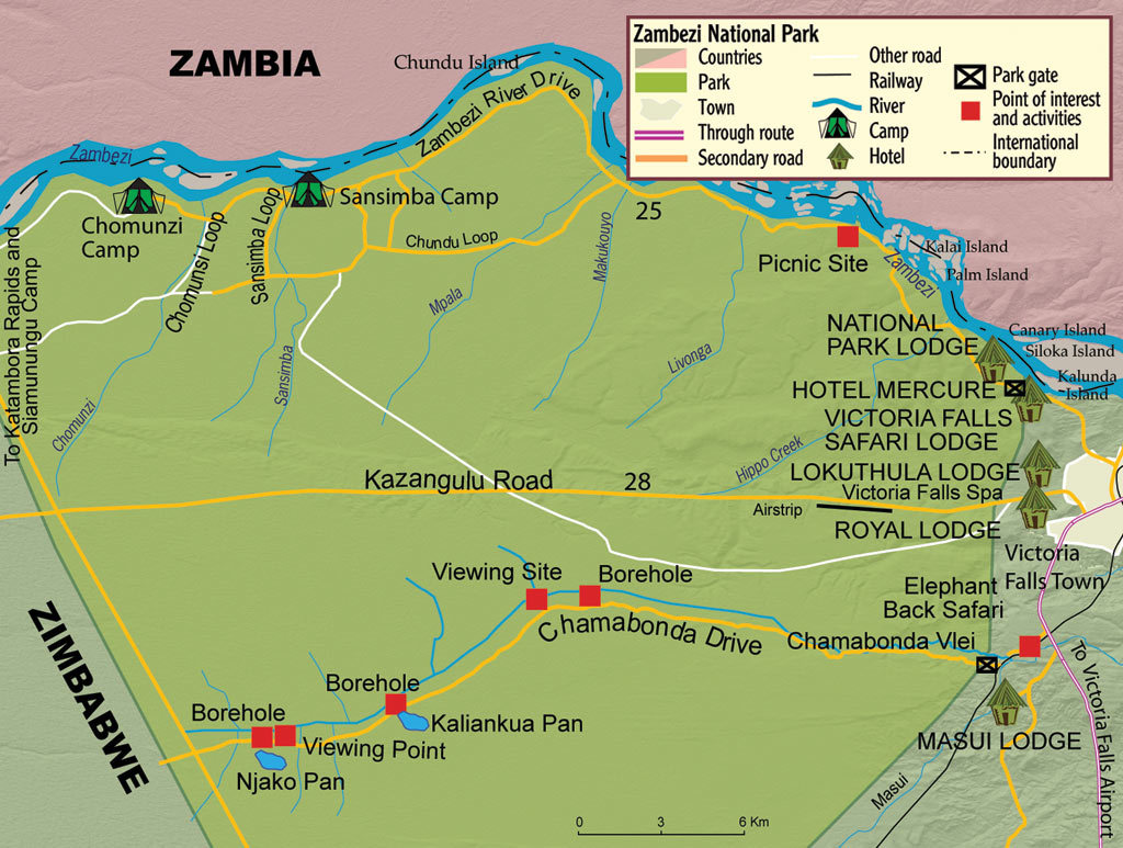 Images Of Victoria Falls Zambezi National Park Zimbabwe